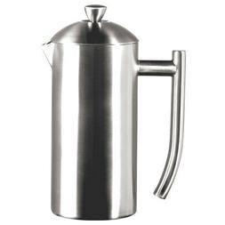 Frieling Brushed Stainless Steel French Press, 17-ounce
