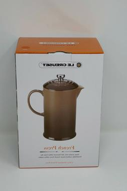 Le Creuset Cafe 27 Ounce French Press Coffee Maker Volcanic