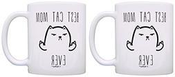 Cat Humor Best Cat Mom Ever Cat Gag Gifts Novelty Mom Mug 2