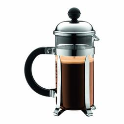 Bodum Chambord 3 cup French Press Coffee Maker, 12 oz, Chrom