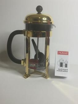 Bodum Chambord Stainless Steel French Press 34oz Coffee Make