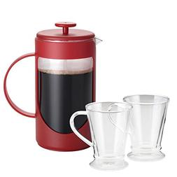 BonJour French Press Coffee for Two Set