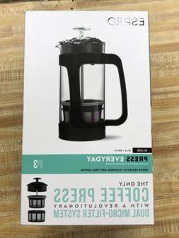 ESPRO Coffee French Press P3 Size 32 Oz New Glass