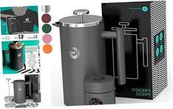 Coffee Gator French Press Coffee Maker - Thermal Insulated B
