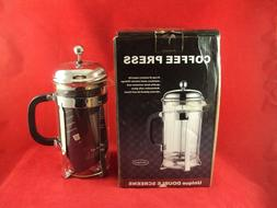 coffee maker french press by double filter