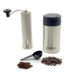 French Press & Coffee Grinder Combo