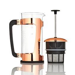 Espro P5 Glass French Press, Copper 18 oz, New