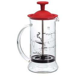 Hario Coffee Press Slim S Red CPSS-2-R 240ml