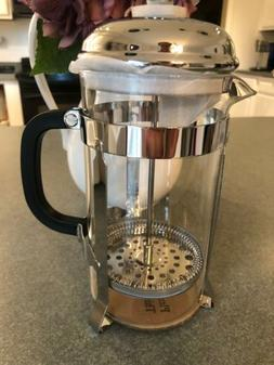 Coffee Press Sterling Pro  Stainless Steel 8 Cup New