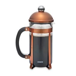 BonJour Coffee and Tea Maximus 8-Cup French Press in Copper