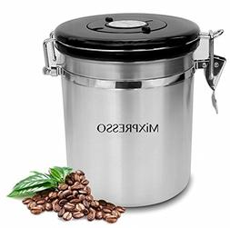 Stainless Steel Coffee Container Airtight Coffee Vault Kitch