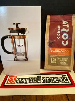 Costa Single Origin Colombian Coffee & French Press Set Coca