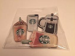 Starbuck Custom Coffee Acrylic Magnet 4 Pack Frappuccino, To