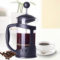 ZeHui Dual Purpose Glass Coffee Press Pot Coffee Tea Maker H
