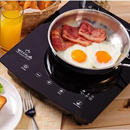 DUXTOP 1800-Watt Portable Sensor Touch Induction Cooktop Cou