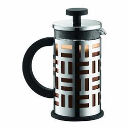 Bodum Eileen French Press Coffee Maker, 12-Ounce, Chrome