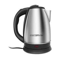 Electric Kettle - Rapid Boil & Cordless - by Mixpresso Coffe
