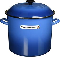 Le Creuset Enameled Steel 16-Quart Stock Pot with Lid, Marse