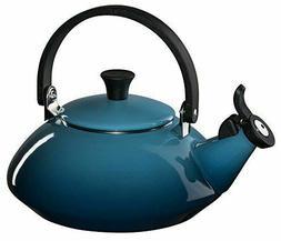 Le Creuset Enamel-on-Steel Whistling 1-4/5-Quart Teakettle,