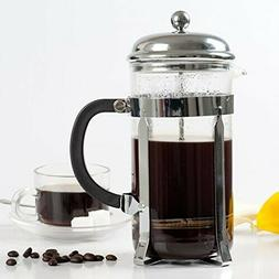 FINNHOMY 34OZ Stainless Steel Glass French Press coffee/tea