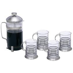 Wyndham House™ 1.06qt  French Press Coffee/Tea Set