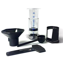 French Coffee Press with Coffee Filter Tools Set, Portable C
