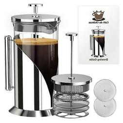 french coffee press 4 level