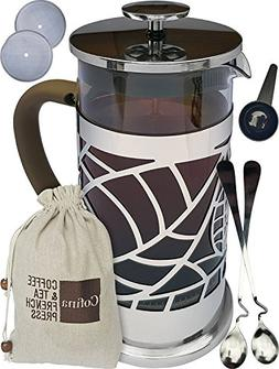 Cofina French Press Coffee Maker - 34 oz Large French Coffee