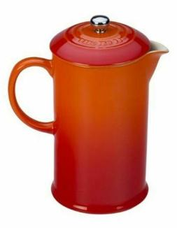 Le Creuset French Press, 27 Ounce PG8200-102 Flame