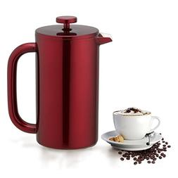 Highwin French Press - Double Wall Insulated Stainless Steel