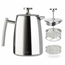 french press coffee maker 17 ounce 18