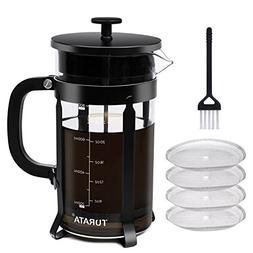 French Press Coffee Maker TURATA French Press Kit Machine 4