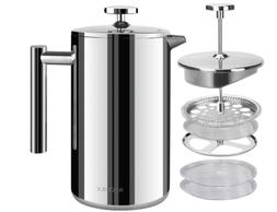 Secura French Press Coffee Maker-304 Grade Stainless Steel I