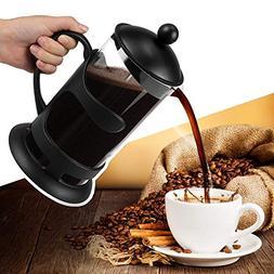 Leoneva French Press Coffee Maker, 1000ML 34oz Espresso Make