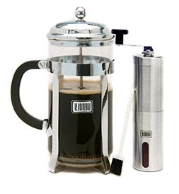 Venoly French Press Coffee Maker and Instant Coffee Grinder
