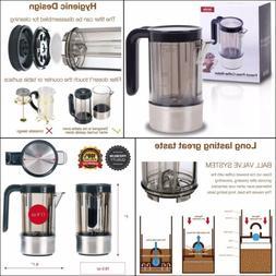 French Press Coffee-maker Coffee Press 2 cups 17 oz