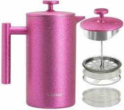 french press coffee maker grade stainless steel