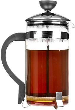Professional French Press Coffee Maker - Stylish 34 Oz Stain