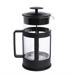 BiggCoffee French Press Coffee Maker Borosilicate Glass Stai
