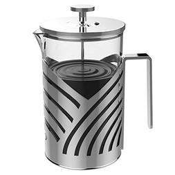 Inmount French Press Coffee Maker Tea Maker, Heavy Duty Stai