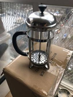 French Press Coffee Maker Tea Maker Stainless Steel Filter G