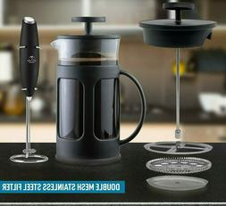 french press coffee maker tea maker stainless