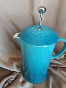 Le Creuset French Press Coffee Pot Caribbean