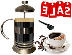 Gear Ultimate French Press: 34 Oz Coffee Tea Espresso Maker,