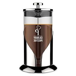 French Press Coffee  Tea Maker | 8 Cup  - Guaranteed Perfect