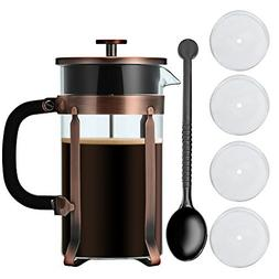 French Press Coffee & Tea Maker-Adeeing French Press Pot
