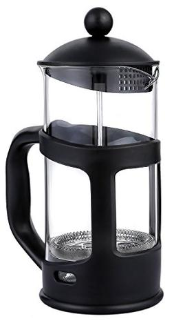 French Press Coffee Maker with Glass Carafe – Tea Maker fo