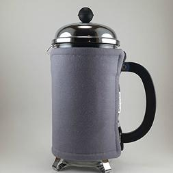 French Press Cozy 8 Cup Gray