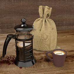 Noeler French Press Glass and PP Plastic Coffee Maker,Coffee