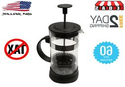 French Press Single Serving Coffee Maker  Small French Press